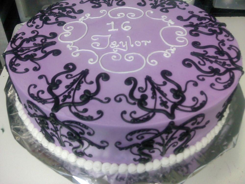 Anaheim Bakery Birthday Cake