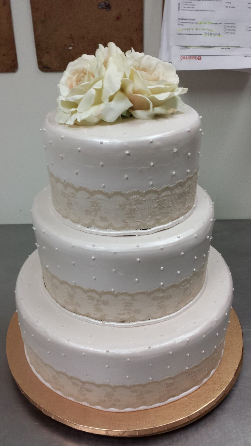 Elegant Wedding Cakes By Cake Among Us Bakery & Donuts