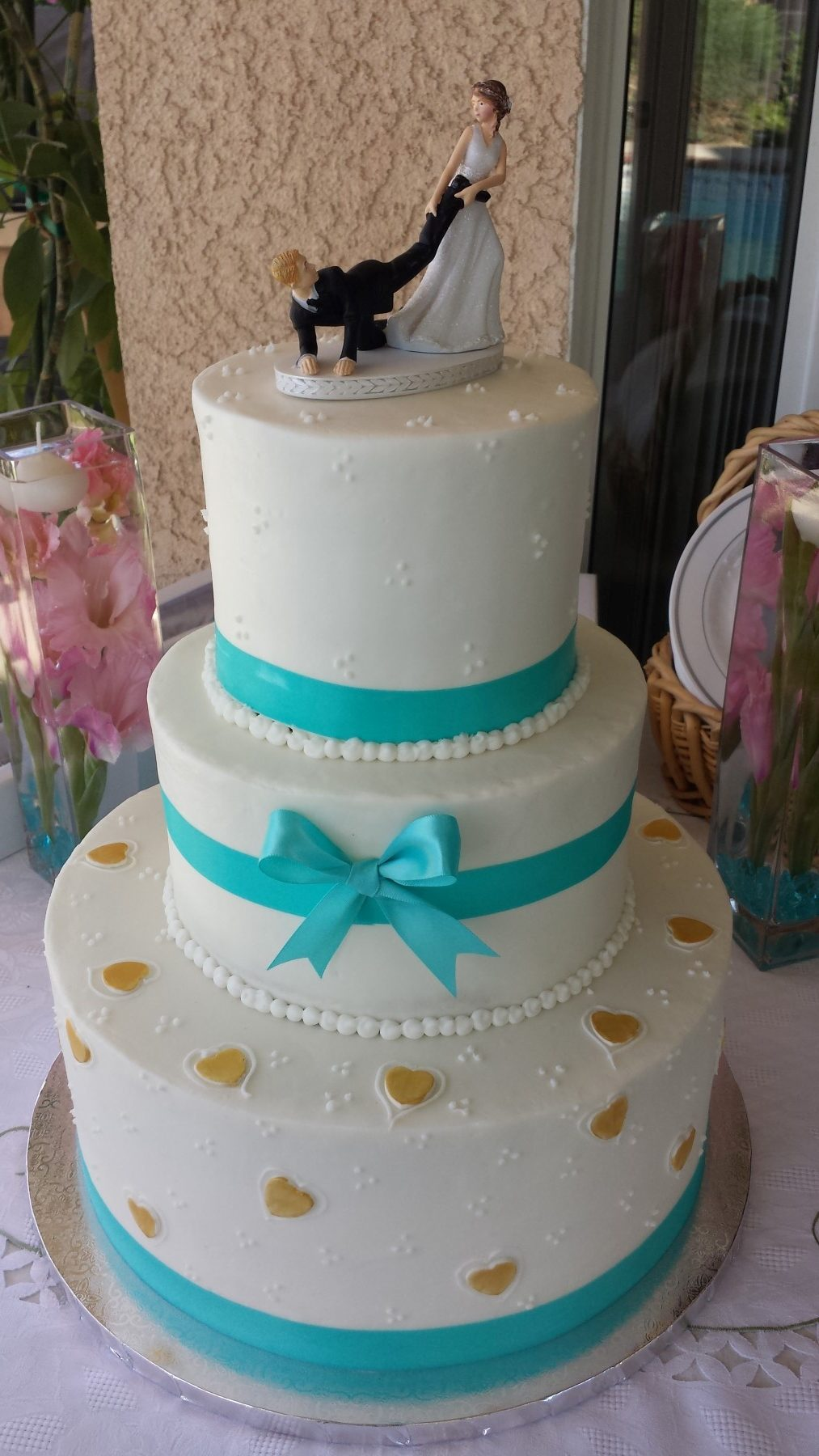Elegant Wedding Cakes By Cake Among Us Bakery & Donuts